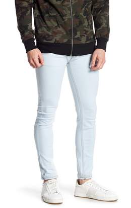 Soul Star Bleach Washed Skinny Jeans