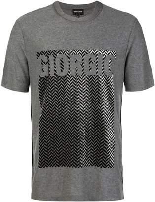 Giorgio Armani printed T-shirt