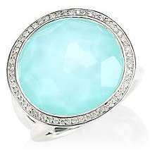 Ippolita Women's Silver Rock Candy® Diamond, Turquoise Doublet & Sterling Silver Ring