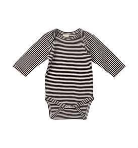 Nature Baby Long Sleeve Bodysuit(0-3M-1Y)