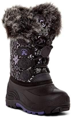 Kamik Snowgypsy 2 Faux Fur Waterproof Boot (Toddler & Little Kid)