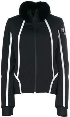 Fendi fur embellished fitted jacket