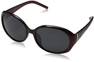 Jocelyn Eyelevel Women's Sunglasses, Purple/Grey Polarized