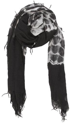 Chan LuuCHAN LUU Black Tie Dye Scarf