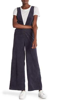 Lush Baby Cord Wide-Leg Overalls