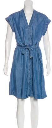 Closed Denim Knee-Length Dress