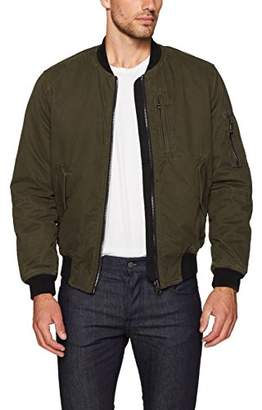 Blank NYC [BLANKNYC] Men's Two Faced Bomber Jacket