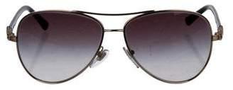 Bvlgari Gradient Aviator Sunglasses