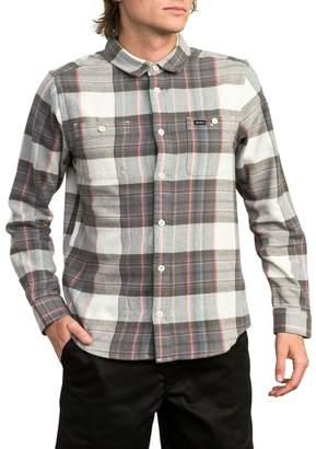 RVCA Ludlow Plaid Flannel Shirt