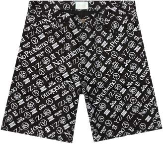 Aries JEANS SHORT PRINT