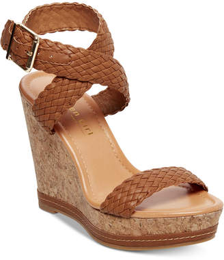 Madden-Girl Narla Woven Platform Wedge Sandals