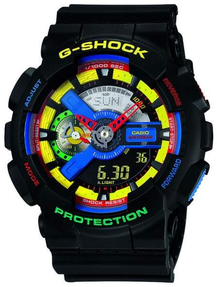 CasioCasio G-Shock GA110DR-1A Stainless Steel 51.2mm Mens Watch