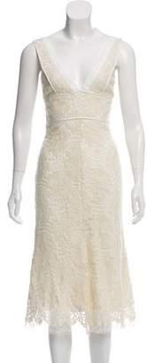 Victoria Beckham Lace Midi Dress w/ Tags