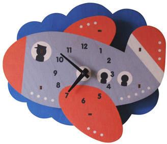 Modern Moose Jet Plane Wall Clock