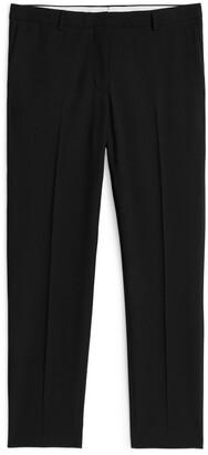 Arket Slim Wool Twill Trousers