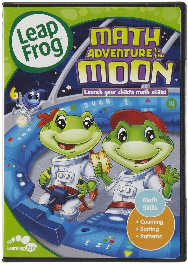 Leapfrog Math Adventure To The Moon DVD