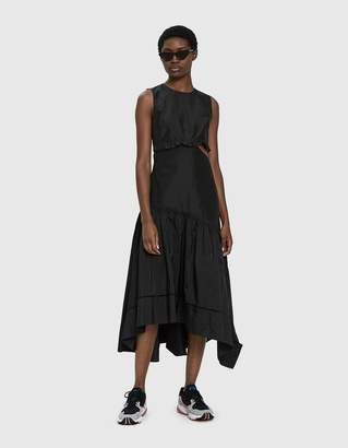 3.1 Phillip Lim Sleeveless Taffeta Dress