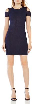 BCBGMAXAZRIA Monicka Cold-Shoulder Dress $338 thestylecure.com