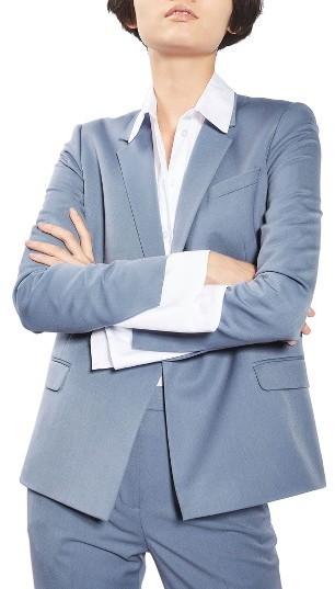 TopshopWomen's Topshop Double Breasted Suit Jacket