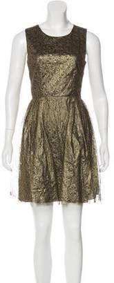 Erin Fetherston ERIN by Metallic Lace Dress w/ Tags