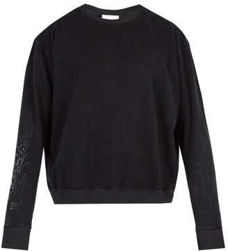 Rhude - Horse Print Sweatshirt - Mens - Black