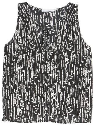 Women's Lush Tie Neck Tank $35 thestylecure.com