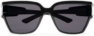 Balenciaga D-Frame Acetate Sunglasses - Men - Black