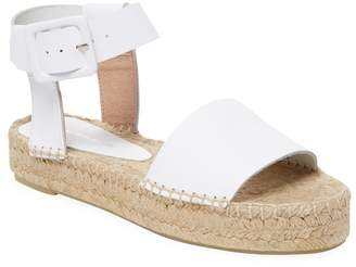 Saks Fifth Avenue Women's Leather Wedge Sandal