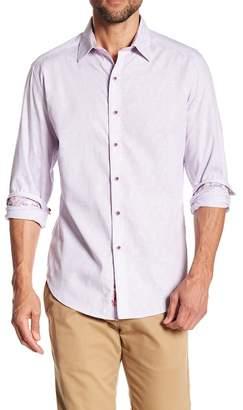 Robert Graham Garden Lake Classic Fit Print Woven Shirt