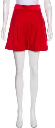 Alexandre Vauthier Wool Tailored Mini Shorts w/ Tags