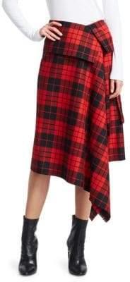 Monse Blanket Wrap Skirt