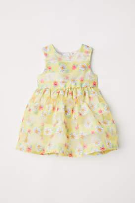 H&M Patterned Dress - Yellow