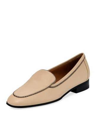 The Row Adam Piper Leather Loafer