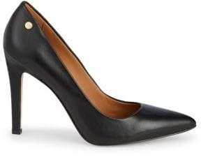 Calvin Klein Brady Leather High Heel Pumps