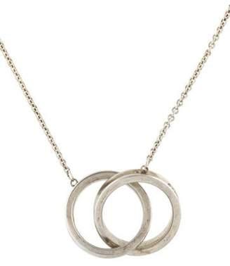 Tiffany & Co. Interlocking Circles Pendant Necklace silver Interlocking Circles Pendant Necklace