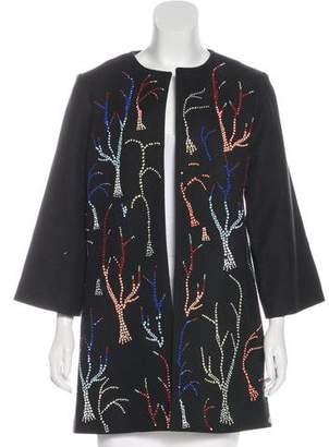 Libertine Embellished Open-Front Coat