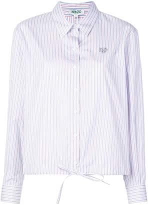 Kenzo boxy drawstring shirt