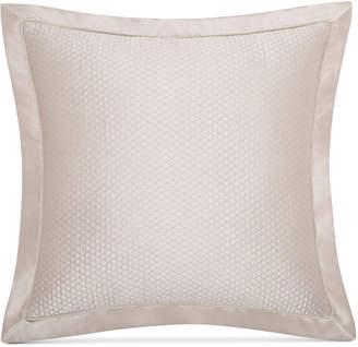 Charisma Avalon Quilted Faux-Silk European Sham Bedding