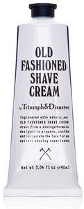 Triumph and Disaster Old Fashioned Shave Cream Tube