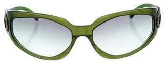 Bvlgari Tinted Logo Sunglasses