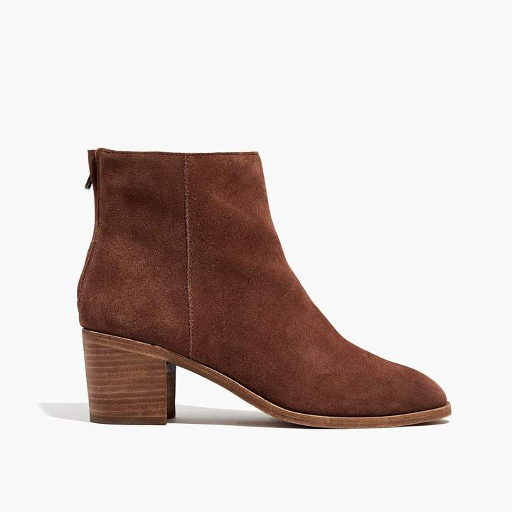 The Pauline Boot in Suede