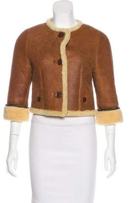 3.1 Phillip Lim Short Shearling Coat