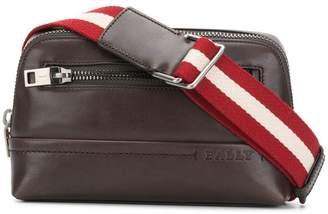 Bally front zip waist bag