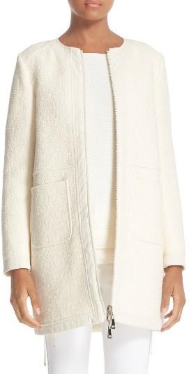 MonclerWomen's Moncler Freesia Reversible Long Puffer Jacket
