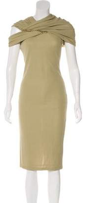 Givenchy Crepe Embellished Dress w/ Tags