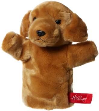 House of Fraser Hamleys Golden Labrador Hand Puppet