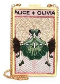 Alice + Olivia Sophia Vintage Twins Clutch
