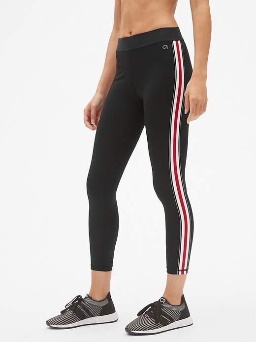 GFast Blackout Side Stripe 7/8 Leggings
