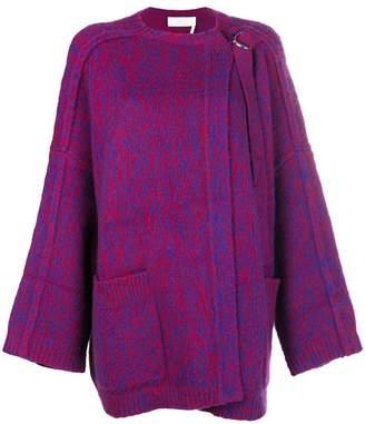 Chloé chunky cardi-coat