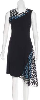 Reed Krakoff Embroidered Colorblock Dress w/ Tags